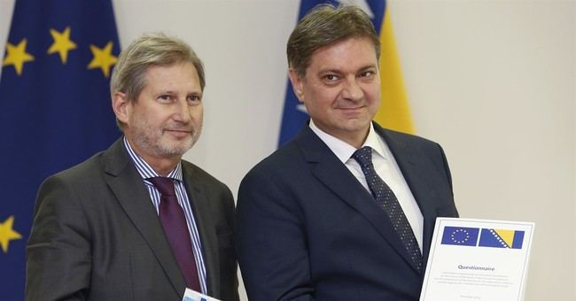 Bosnia to answer thousands of questions for EU candidacy