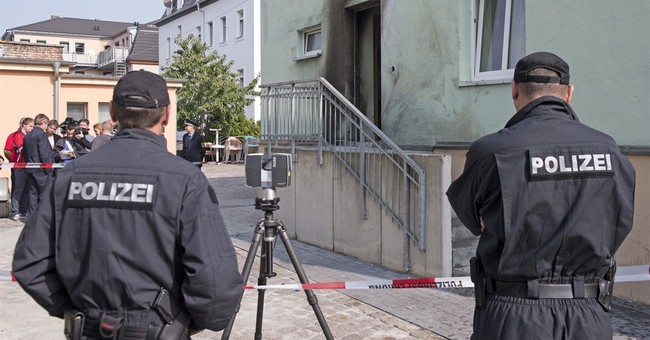 Suspect arrested over explosion at mosque in Germany
