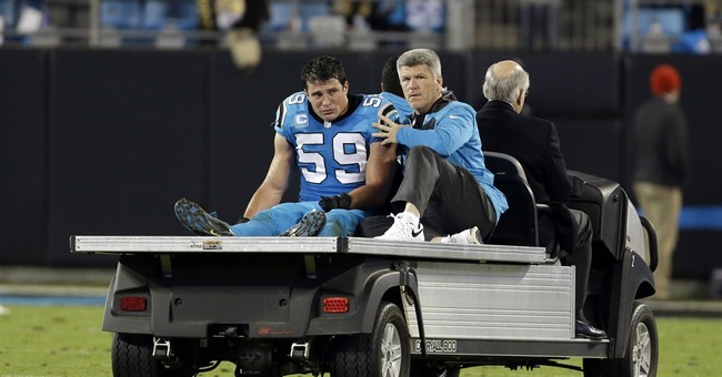 Panthers' Kuechly questionable with concussion vs. Chargers