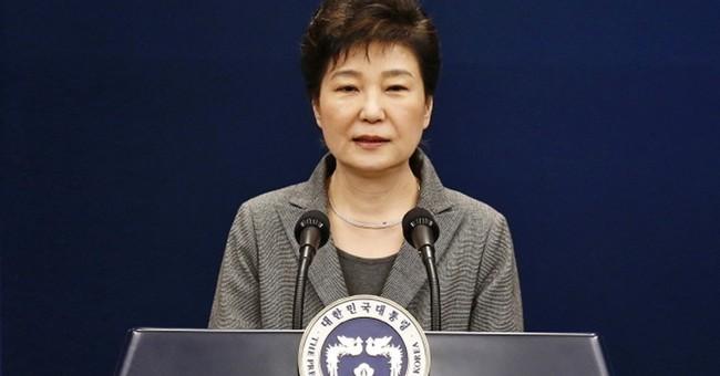 South Korean leader's fall offers fodder for Pyongyang