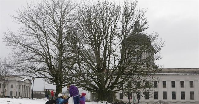 Snow, freezing rain hits Northwest
