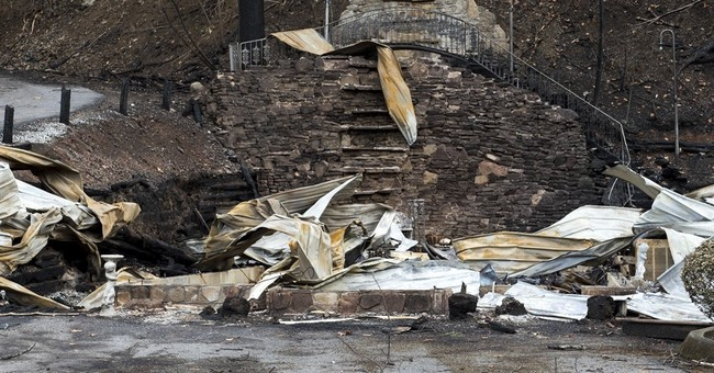 Chapel of Love lost to fire that ravaged city in Smokies