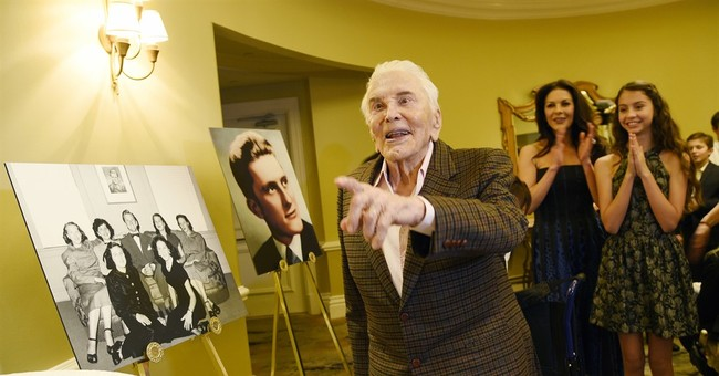 Inside Kirk Douglas's intimate 100th birthday celebration