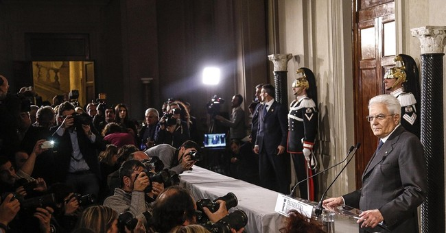 The Latest: Italy's foreign minister asked to be new premier