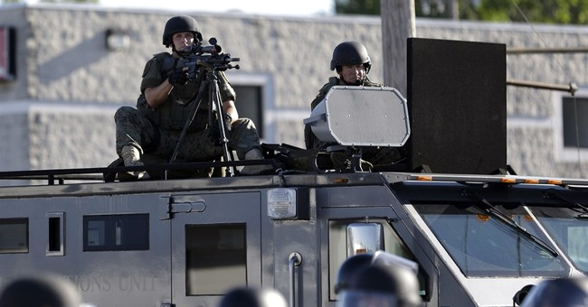 Police expect Trump to lift limits on surplus military gear