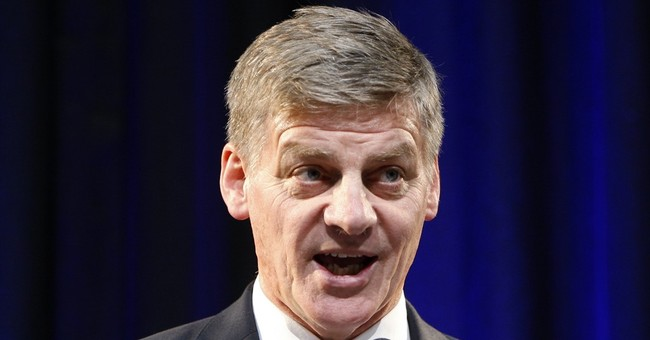 A look at Bill English, New Zealand's new prime minister