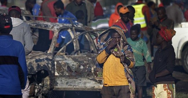 39 dead as truck rams into vehicles on Kenya road