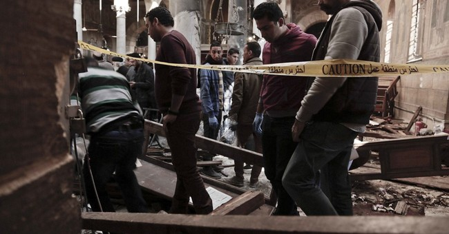 Suspect in Egypt chapel bombing had 2014 run-in with police