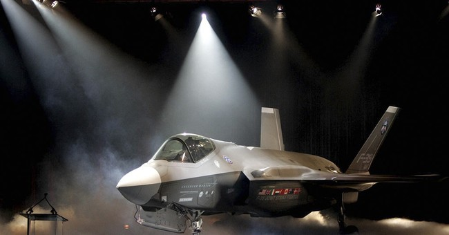 Lockheed falls as Trump tweets that F-35 program is costly