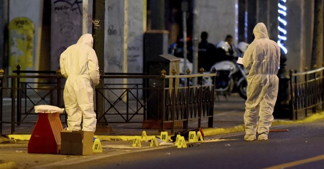 Greek police destroy suspected bomb outside Athens ministry