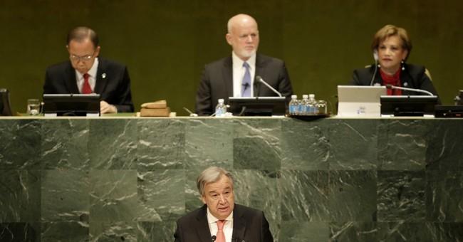 Antonio Guterres sworn as UN secretary-general