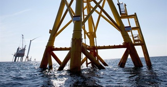 1st US offshore wind farm opens off Rhode Island's coast