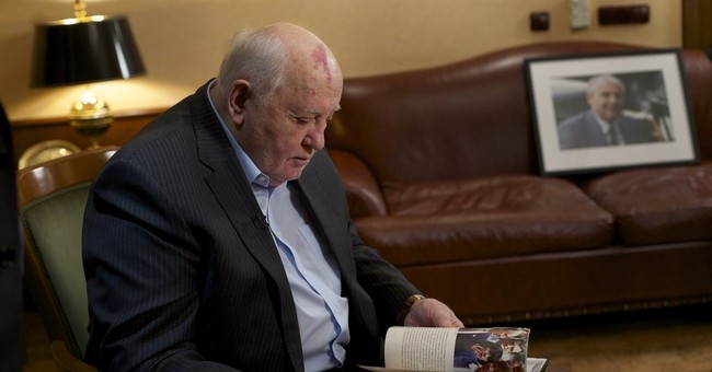 AP Interview: Gorbachev says US was short-sighted on Soviets