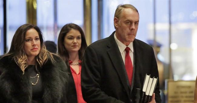 AP Sources: Trump offers Montana's Zinke interior secretary