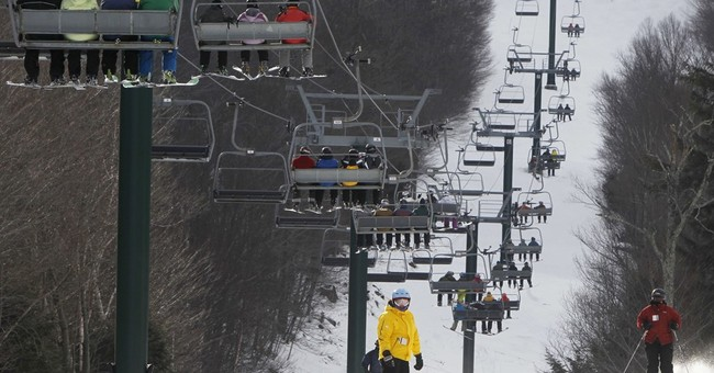 No golfing this December: Cold, snow brings out skiers