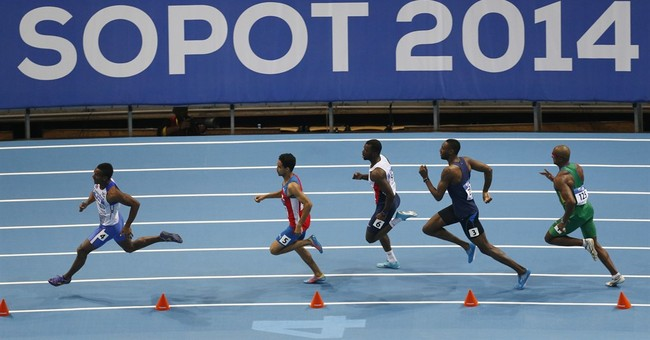 IAAF to look into 2014 world indoors for Russian doping