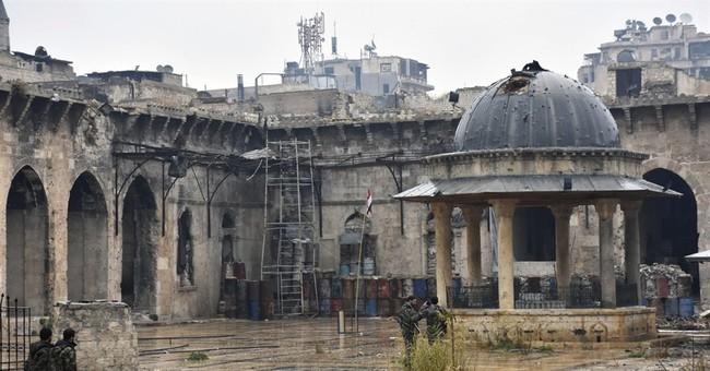 As Aleppo falls, Trump faces test on posture toward Russia