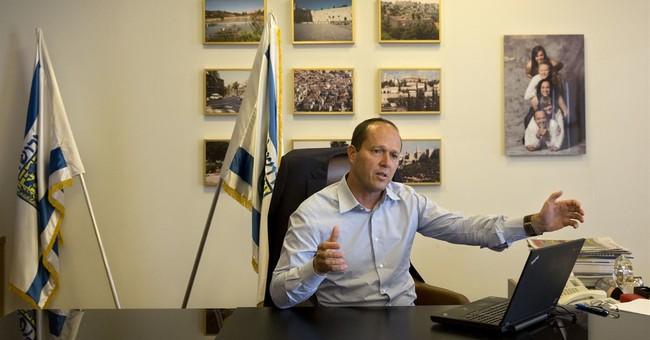 Jerusalem mayor hopes Trump will move US Embassy to the city