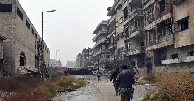 The Latest: Syrian envoy at UN hails 'liberation of Aleppo'