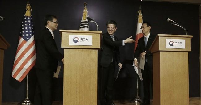 US, S. Korea, Japan vow cooperation over N. Korea sanctions