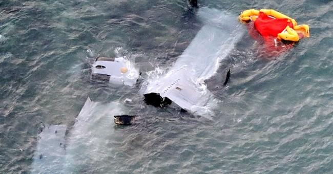 US military Osprey crash-lands off Okinawa, no fatalities