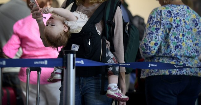 Apps for haggard parents with a wailing child on a flight