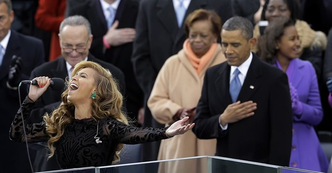 Who else sang the anthem at presidential inaugurations?