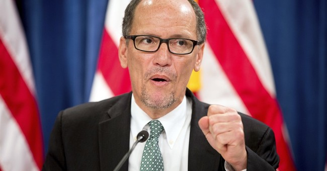 Labor Secretary Perez to formally enter DNC race Thursday