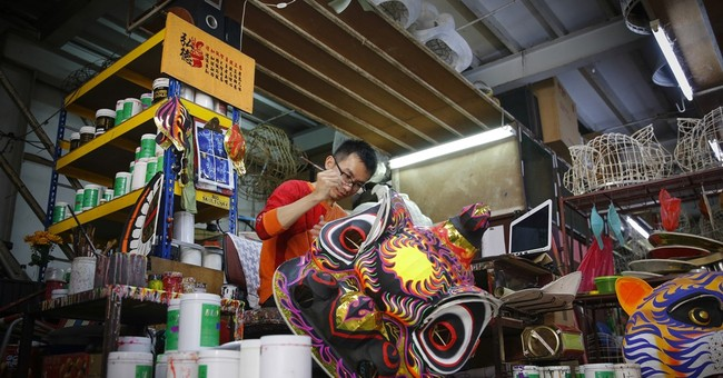 AP PHOTOS: Lion dance tradition thrives in Malaysia