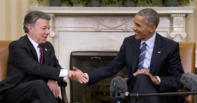 Peace deal in reach, Obama says US to help Colombia rebuild