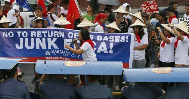 Image of Asia: Rally on Philippine-American War anniversary