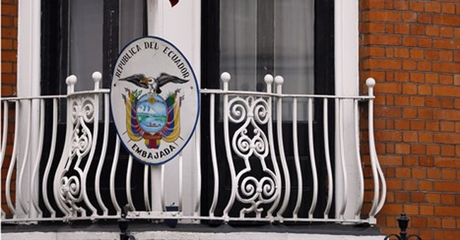 Assange finds surprising ally _ but it may not be enough