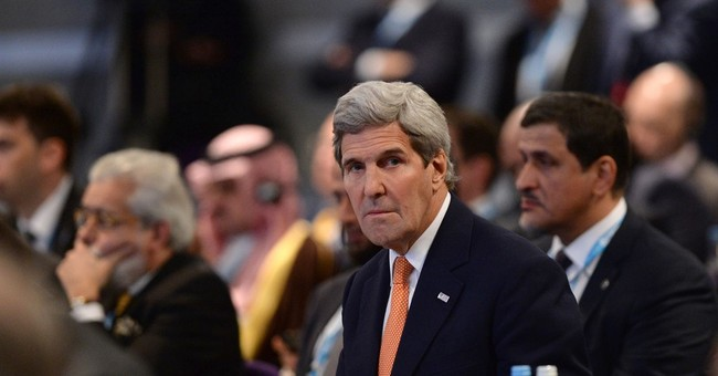 The Latest: Kerry says Russia, Assad not complying with UN