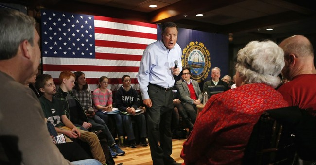 Kasich keeps it positive in final days before New Hampshire