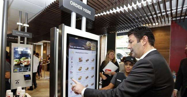 Burger robots: Labor nod revives image but reality's complex