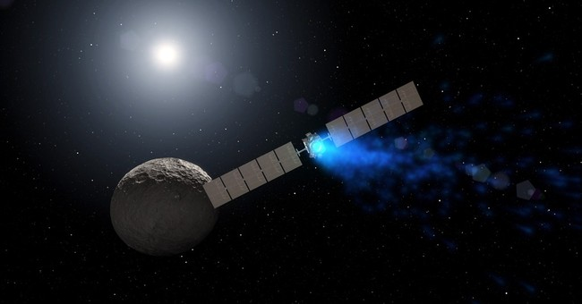 Ice hidden in shadowy craters on dwarf planet Ceres