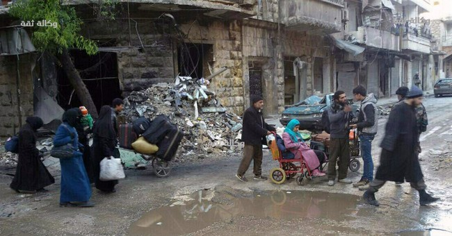 The Latest: Syrian groups say Russia behind violations