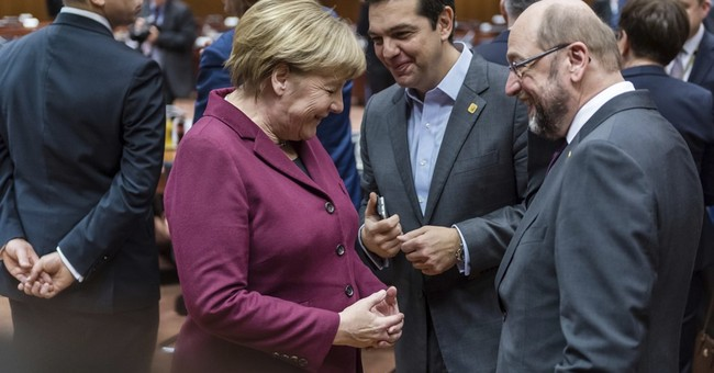 EU mired in bickering with parliament ahead of Brexit talks