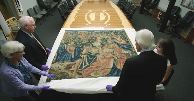 Tapestry from Hitler's alpine retreat returning to Germany