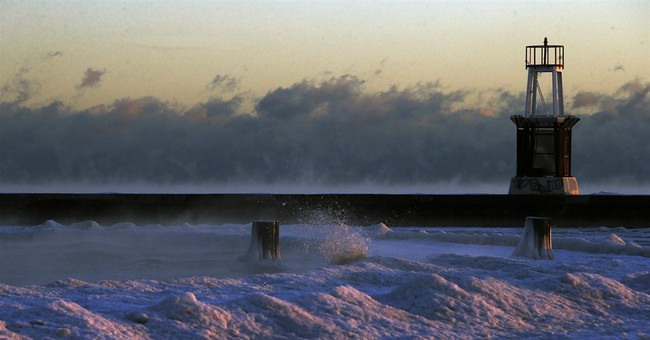 Plunging temperatures, powerful winds reach Northeast US