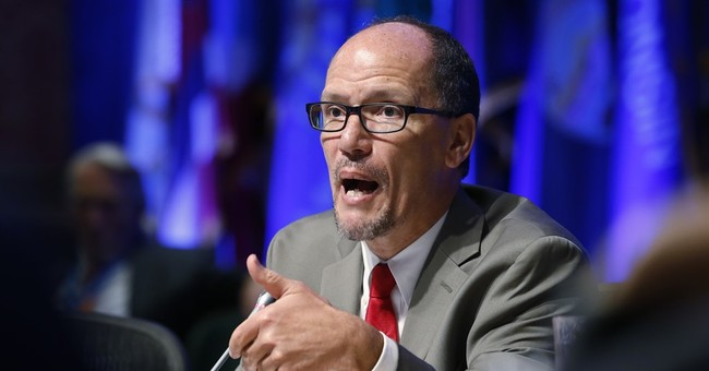 Obama praises Labor Secretary Perez, who's weighing DNC bid