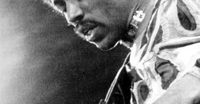 Rare plant named after rock guitarist Jimi Hendrix