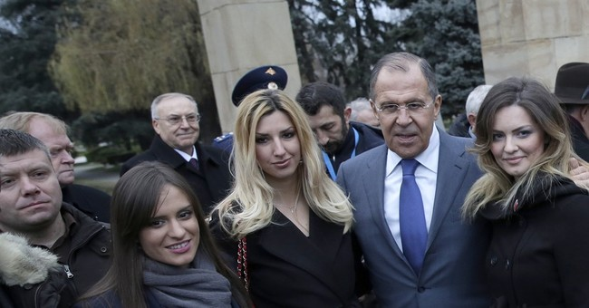 Montenegro seeks man pictured with Russian foreign minister
