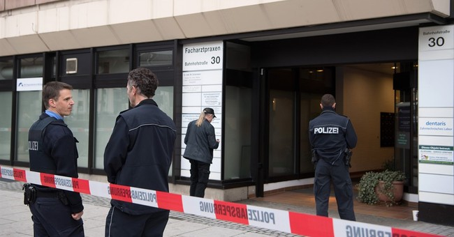 2 doctors shot dead in attack in western Germany
