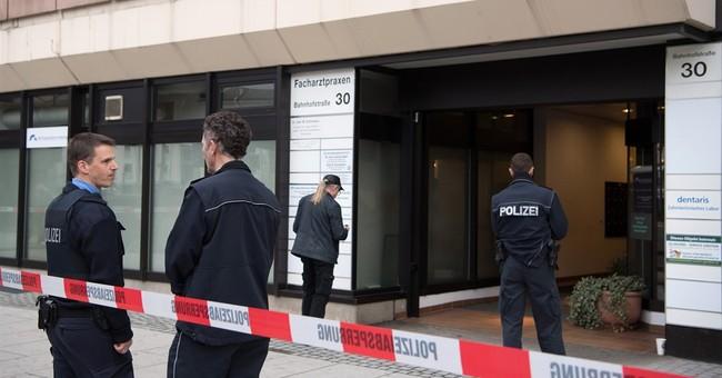 2 doctors shot dead in attack in western Germany