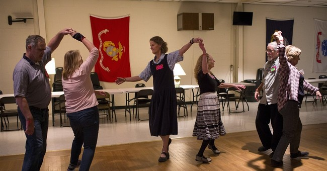 Barn dances bring joy and relief to veterans with PTSD