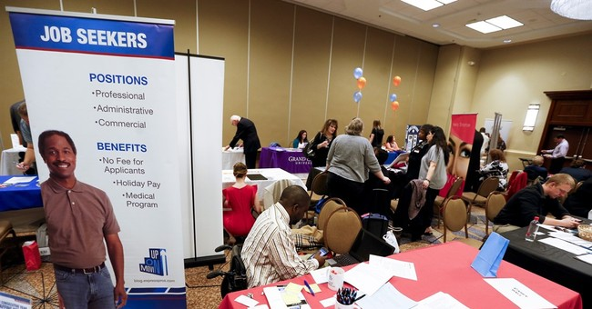 Hiring rises at robust pace in 9 US states last month