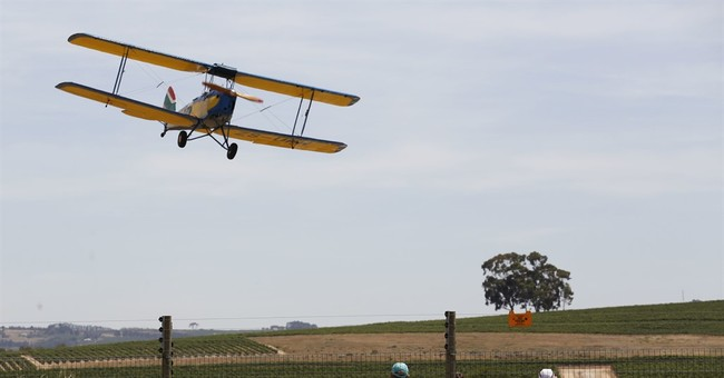 Vintage plane rally along Africa's length swoops to an end
