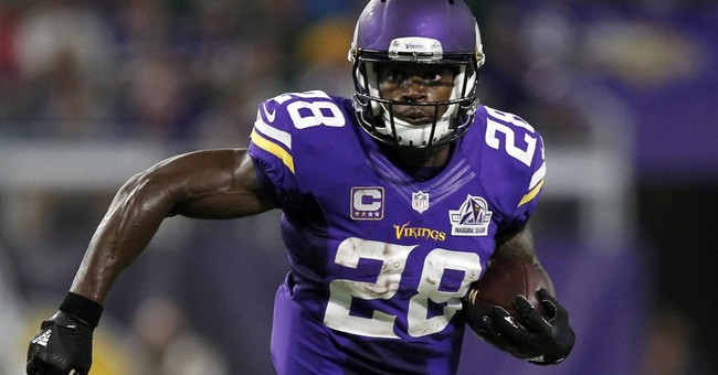 Vikings' Peterson says he will play Sunday against Colts