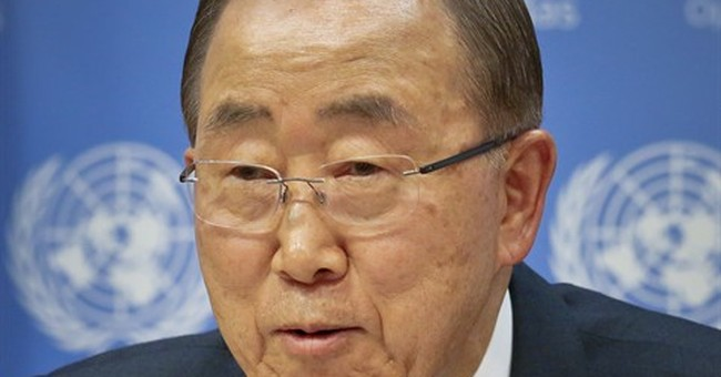 UN chief speaks to reports he'll run for South Korea leader